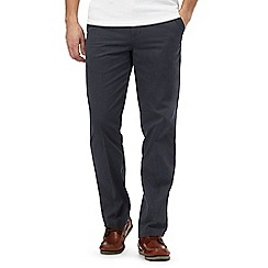 Maine New England - Dark blue tailored fit chinos