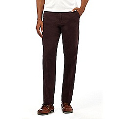 Maine New England - Big and Tall purple tailored fit chinos