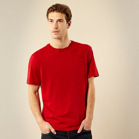 Maine New England - Red crew neck t-shirt