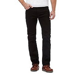 Maine New England - Big and tall black slim fit jeans