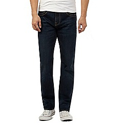Maine New England - Big and tall blue rinse wash straight fit jeans