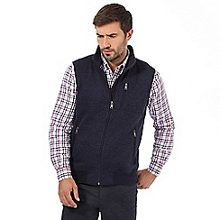 Maine New England - Blue three pocket gilet