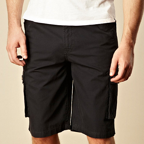 Maine New England - Navy six pocket cargo shorts
