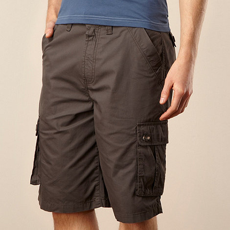 Maine New England - Big and tall grey cargo shorts