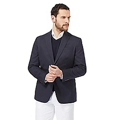 Maine New England - Big and tall navy cotton blazer