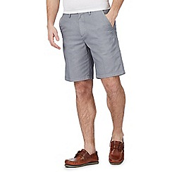 Maine New England - Navy printed chino shorts