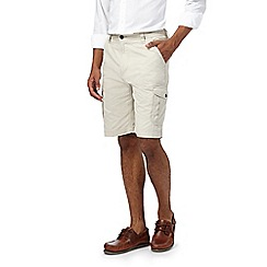 Maine New England - Big and tall natural cargo shorts
