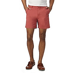 Maine New England - Big and tall dark red shorts