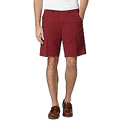 Maine New England - Dark red chino shorts