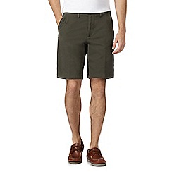 Maine New England - Big and tall olive chino shorts