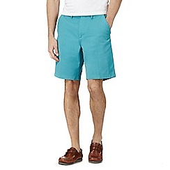 Maine New England - Big and tall aqua chino shorts