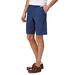 Maine New England - Big and tall blue chino shorts