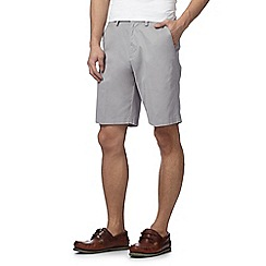 Maine New England - Big and tall pale grey chino shorts