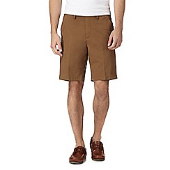 Maine New England - Dark tan chino shorts