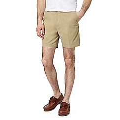 Maine New England - Big and tall beige chino shorts - shorter length