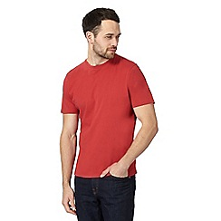Maine New England - Big and tall red crew neck t-shirt