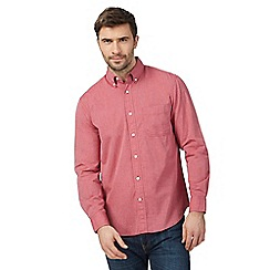 Maine New England - Big and tall pink long sleeved shirt