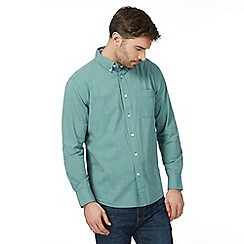 Maine New England - Big and tall green long sleeved shirt