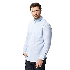 Maine New England - Big and tall blue regular fit shirt