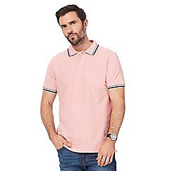 Maine New England - Big and tall pink polo shirt
