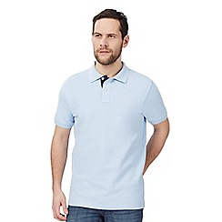 Maine New England - Big and tall light blue polo shirt