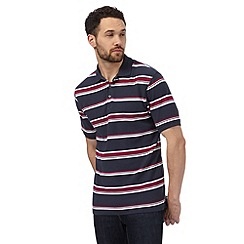 Maine New England - Multi-coloured striped polo shirt