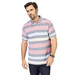 Maine New England - Multicoloured textured polo shirt