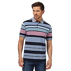 Maine New England - Multi-coloured striped polo shirt