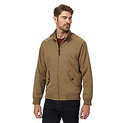 Maine New England - Big and tall taupe Harrington jacket