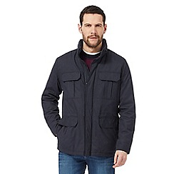 Maine New England - Big and tall navy fleece lined jacket