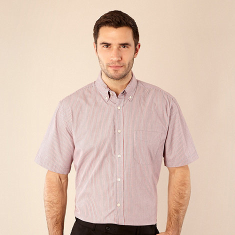 Maine New England - Red bordered striped shirt