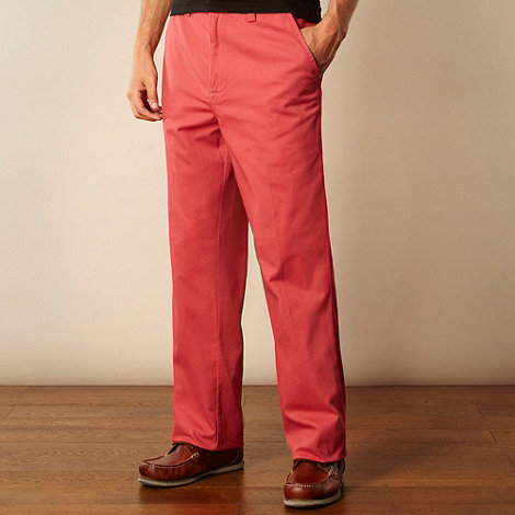 Maine New England - Big and tall rose straight leg chinos