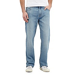 Maine New England - Big and tall light blue regular leg jeans