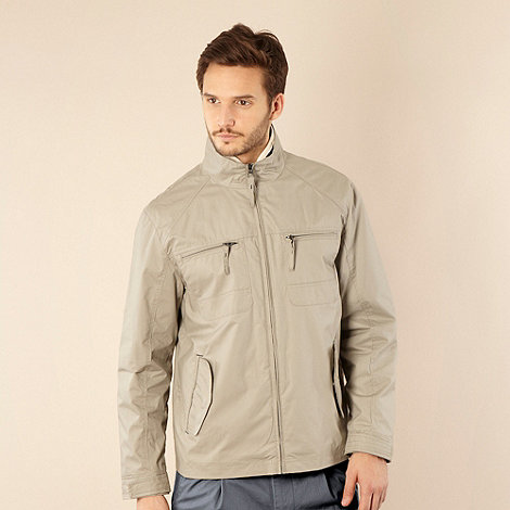 Maine New England - Olive jersey lined jacket