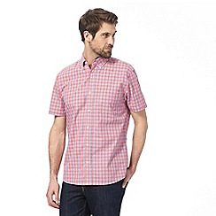 Maine New England - Red checked shirt