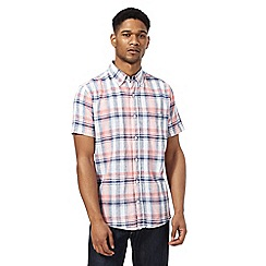 Maine New England - Big and tall multi colour nautical check shirt