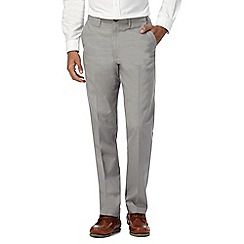 Maine New England - Grey plain linen trousers