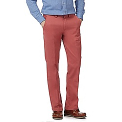 Maine New England - Terracotta tailored fit chinos