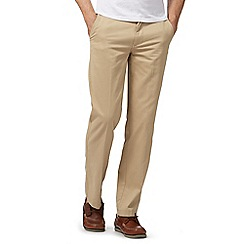 Maine New England - Cream tailored fit chinos