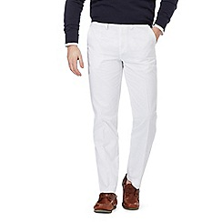 Maine New England - Big and tall white chino trousers