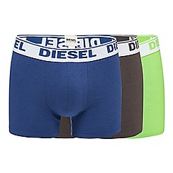 Diesel - Pack of three assorted boxer trunks