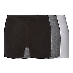Debenhams - Pack of three assorted boxers