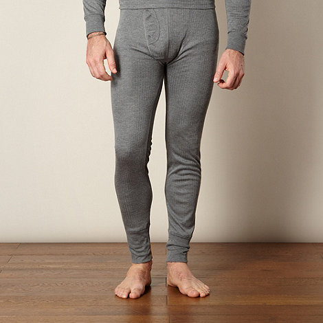 Maine New England - Grey thermal long leggings