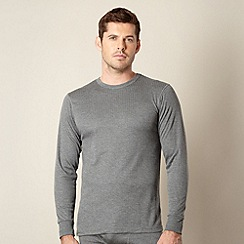 Maine New England - Grey thermal long sleeved top
