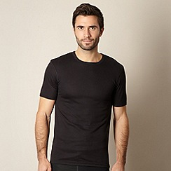 Maine New England - Black short sleeve thermal top