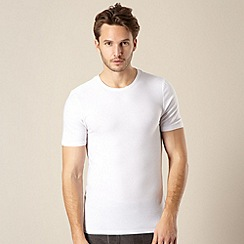 Maine New England - White thermal short sleeve top