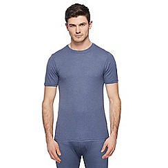 Maine New England - Blue thermal t-shirt