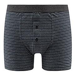 RJR.John Rocha - Designer blue fine striped boxers
