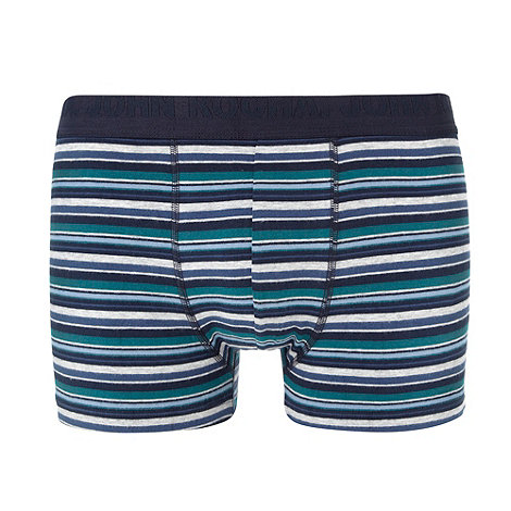 RJR.John Rocha - Designer blue multi striped hipster trunks