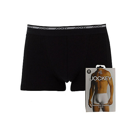 Jockey - Pack of two black trunks